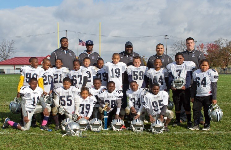 2012 MMYFL Mighty Mites Champions - Lansing Cowboys